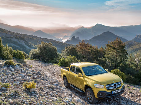 Mercedes X-Klasse: Pick-up mit Stern